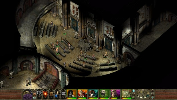 Planescape: Torment Enhanced Edition screenshot of the tribunal