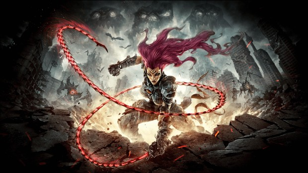 Darksiders 3 official artwork showing off Fury