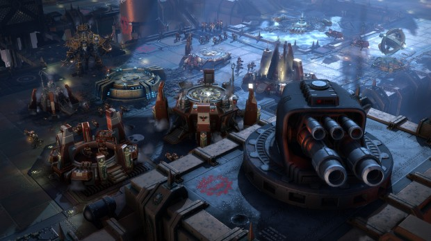 Dawn of War 3 Space Marine fortress screenshot