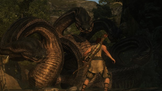 Dragon's Dogma screenshot of the Hydra fight