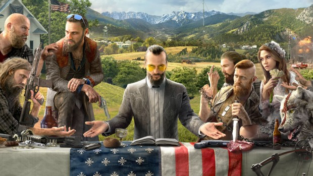 Far Cry 5 official promo artwork