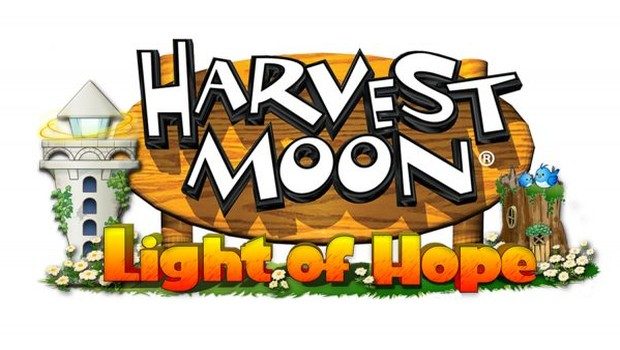 Harvest Moon: Light of Hope official logo and artwork