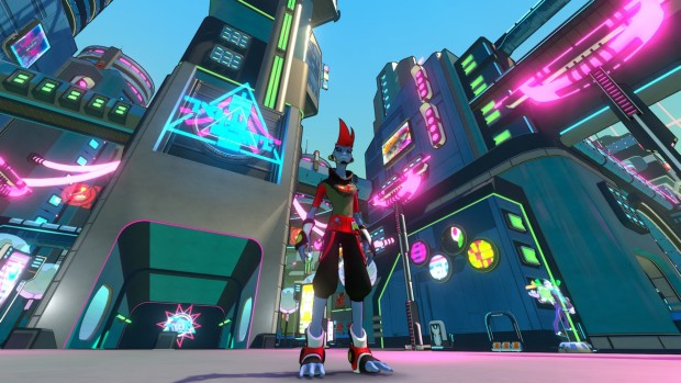 Hover: Revolt of Gamers screenshot of a character
