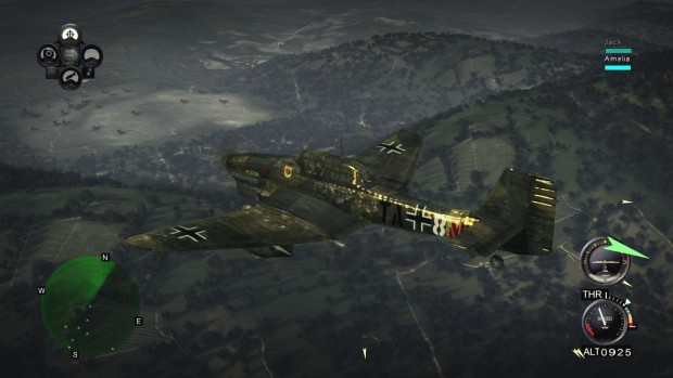 Iron Wings gameplay screenshot