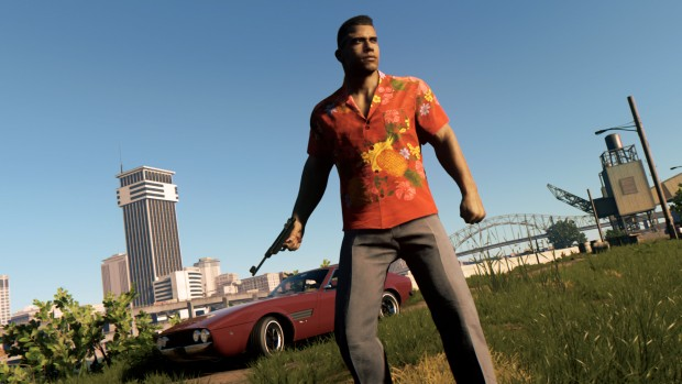 Mafia 3: Stones Unturned screenshot of a flower patterend shirt