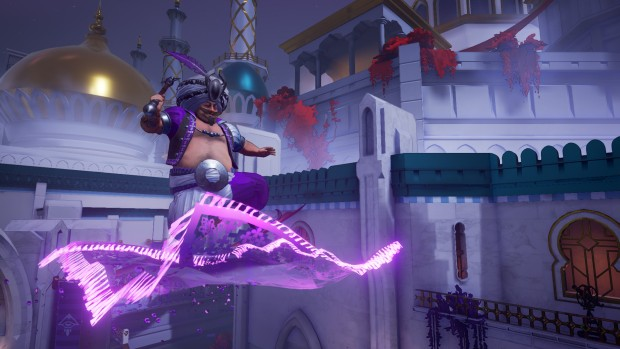 Mirage: Arcane Warfare screenshot of a flying magical carpet