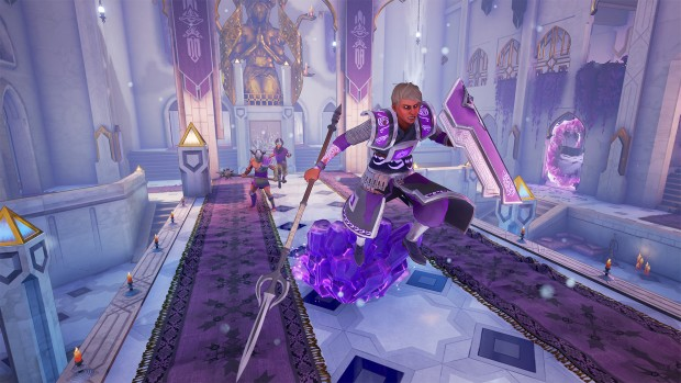 Mirage: Arcane Warfare running away and crystals