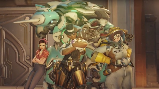 Overwatch Anniversary Update skins for Lucio, D.Va and Mei