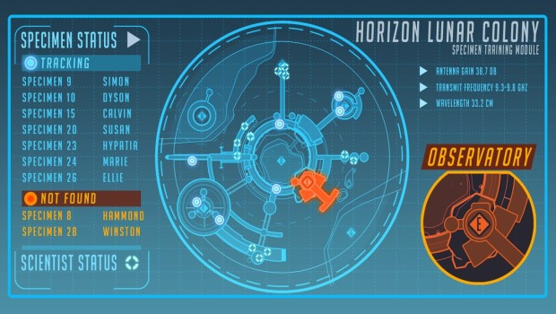 Overwatch teaser for either a brand new Lunar Horizon Map or a Hammond hero