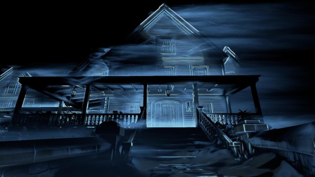 Perception screenshot of the house