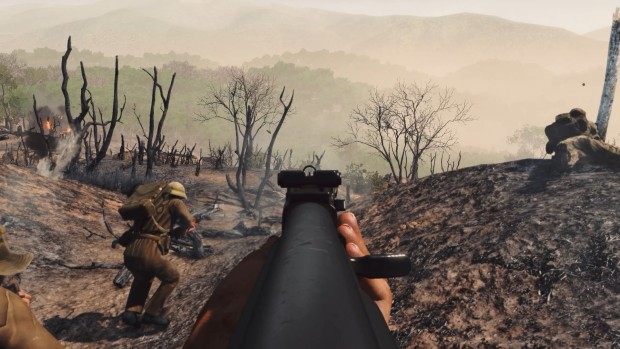 Rising Storm 2: Vietnam screenshot of a rifle scoped in