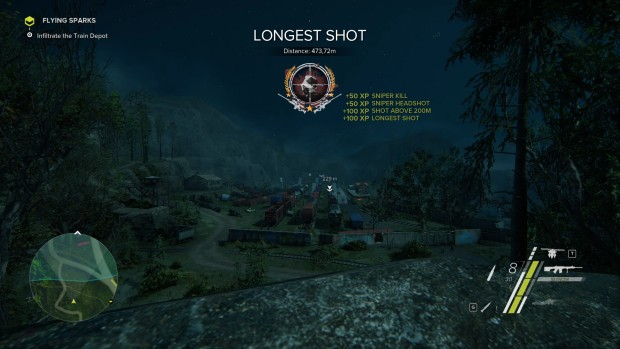 Sniper Ghost Warrior 3 long range sniper shot