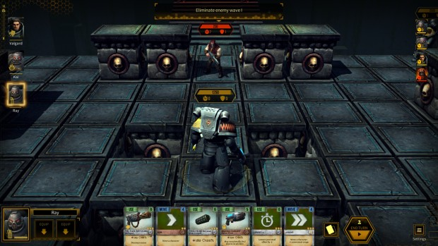 Warhammer 40k: Space Wolf survival mode layout changes each game
