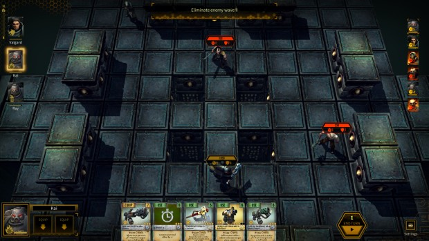 Warhammer 40k: Space Wolf survival mode square arena layout