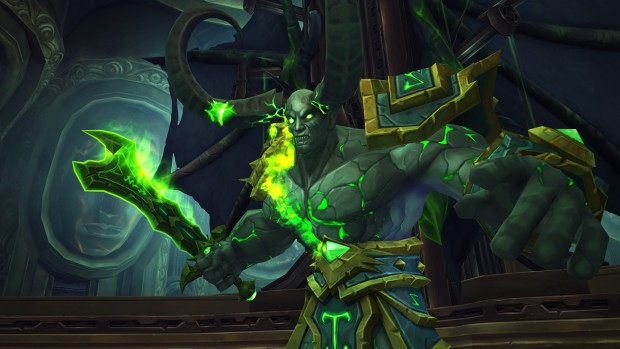 World of Warcraft Tomb of Sargeras boss screenshot for the Fallen Avatar