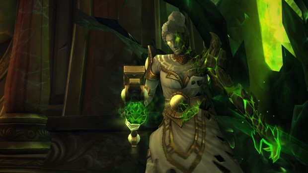 World of Warcraft Tomb of Sargeras boss screenshot for the Maiden of Vigilance
