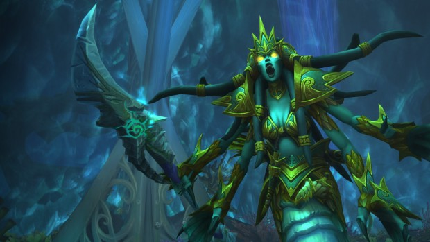 World of Warcraft Tomb of Sargeras boss screenshot for the Mistress Sassz'Ine