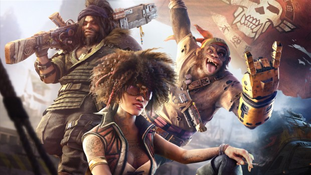 Beyond Good and Evil 2 official artwork showing the main characters
