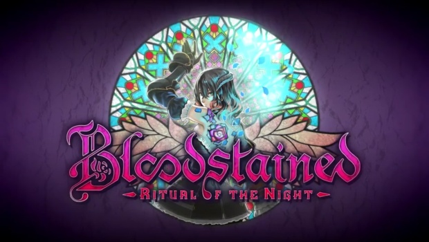 Bloodstained: Ritual of the Night official logo and artwork
