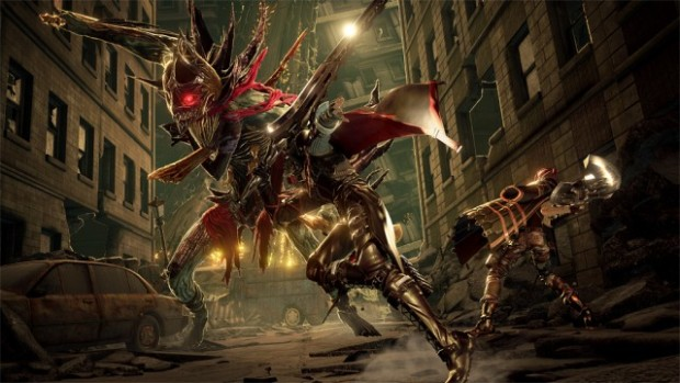 Code Vein screenshot of a giant monster