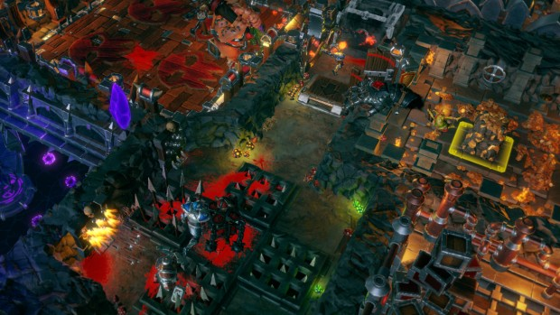 Dungeons 3 screenshot of Dungeon Keeper inspired gameplay