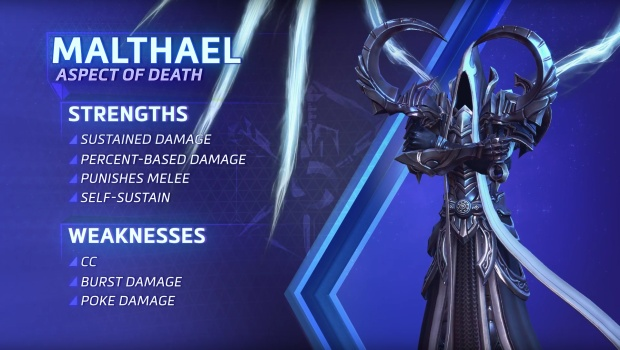 Heroes of the Storm screenshot of Malthael