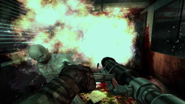Killing Floor flamethrower screenshot