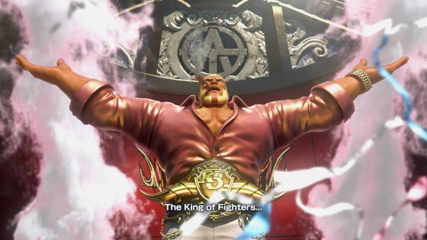 King of Fighters XIV screenshot of an awesome introduction