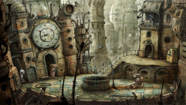 Machinarium screenshot of the newly reworked version