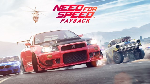 Need For Speed Payback official artwork