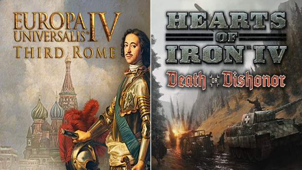 Europa Universalis IV and Hearts of Iron IV DLC artwork