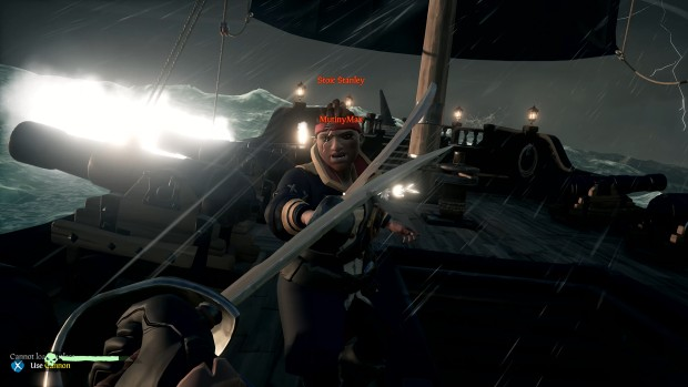 Sea of Thieves screenshot of a dark duel