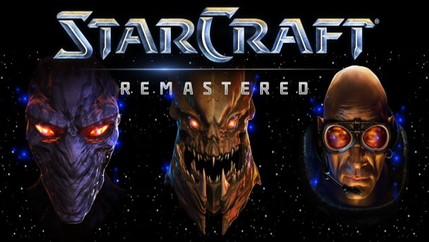 StarCraft Remastered official artwork and logo