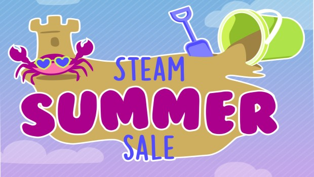 Steam Summer Sale 2017 official artwork and logo
