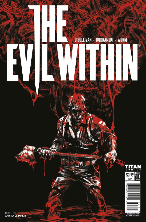 The Evil Within 2 comic book cover official
