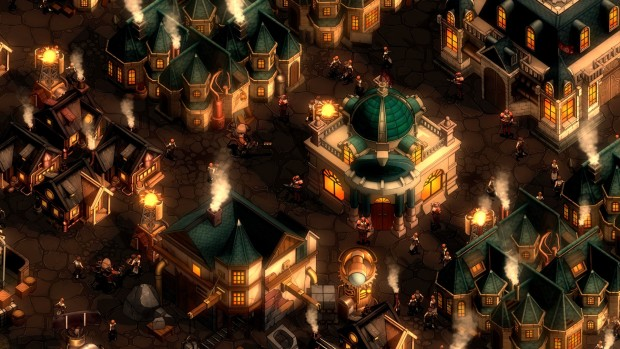 They are Billions screenshot of the city map