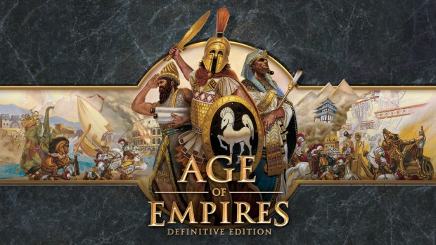 Age of Empires: Definitive Edition official artwork and logo