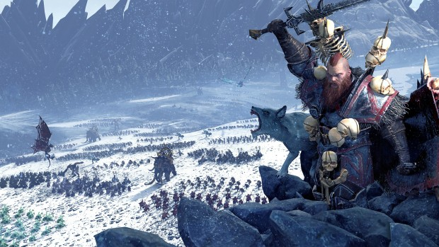 Wulfrik the Wanderer from Total War: Warhammer's Norsca faction