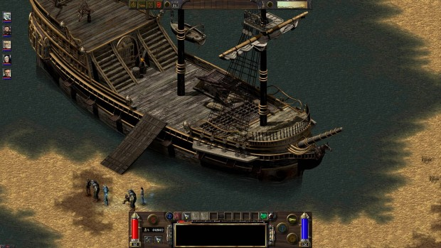Arcanum high resolution patch screenshot of a boat