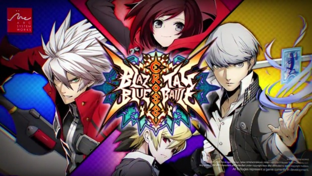 BlazBlue Cross Tag Battle official artwork and logo
