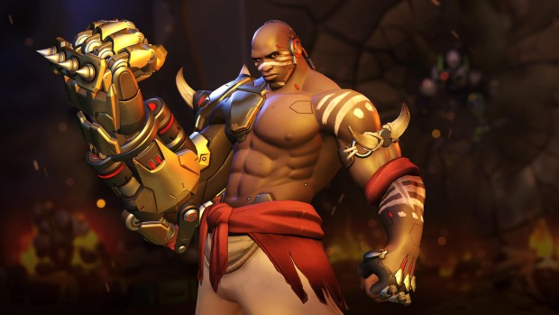 Screenshot of Doomfist from Overwatch