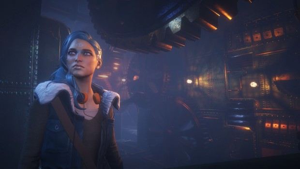 Dreamfall Chapters screenshot from up-close