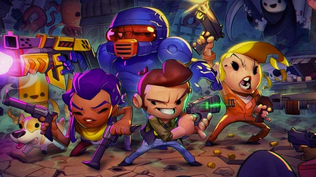 Enter the Gungeon official artwork without logo