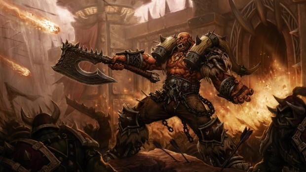 Garrosh Hellscream artwork for the Siege of Orgrimmar