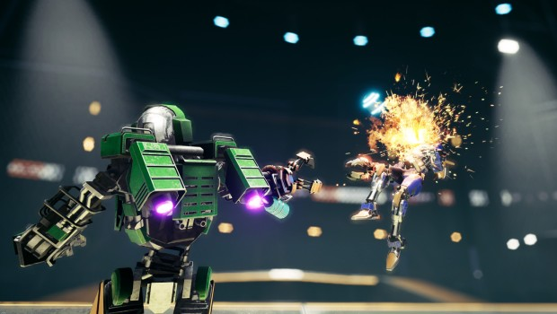 JackHammer screenshot of robot destruction