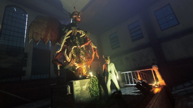 Mafia 3 screenshot of the Sanatorium ritual from Sign of the TImes