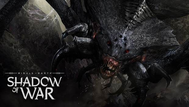 Shelob from Shadow of War artwork