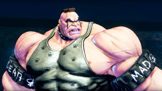 Final Fight's Abigail in Street Fighter V