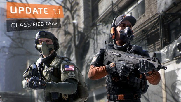 The Division screenshot of the classified gear