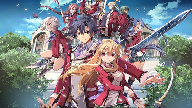 The Legend of Heroes: Trails of Cold Steel official artwork
